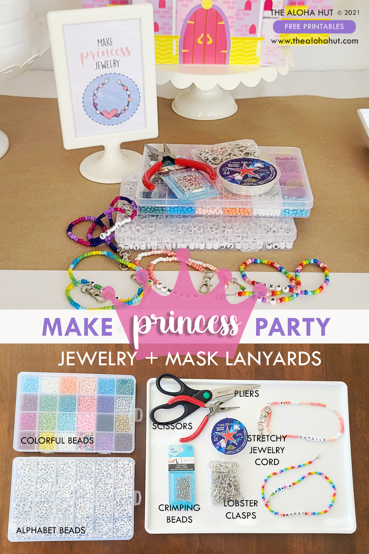 Princess Party Jewelry by the Aloha Hut