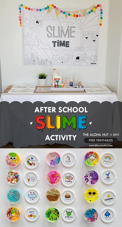 Slime Activity Free Printables