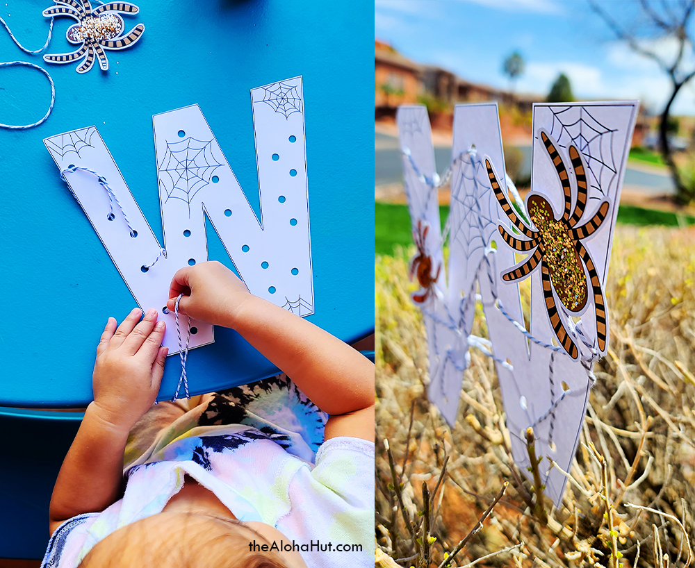 Free Printable Alphabet Letter Crafts 7 by the Aloha Hut