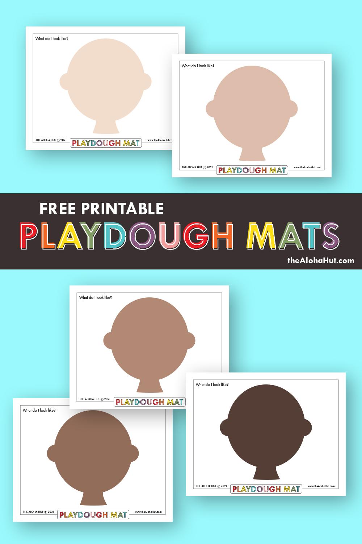 Free Printable PLAYDOUGH MATS 8 by the Aloha Hut