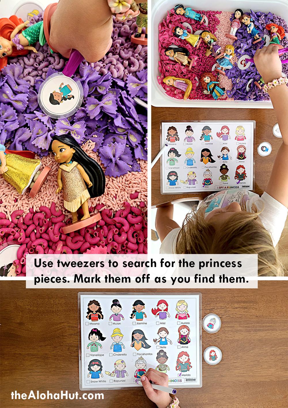 I Spy a Princess game by the Aloha Hut