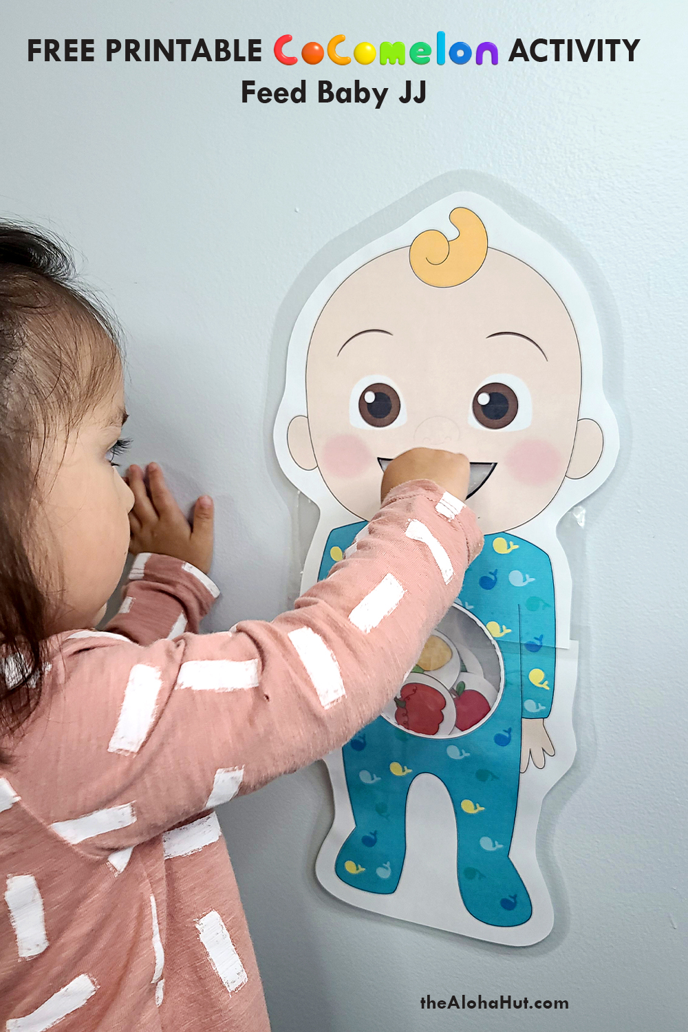cocomelon feed baby JJ activity free printable 7 by the Aloha Hut