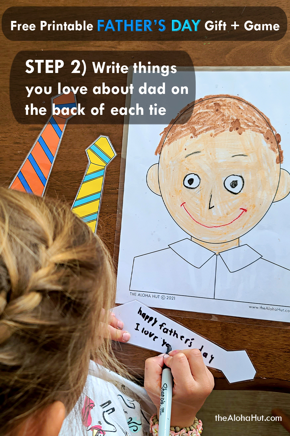 DIY Fathers Day gift + game