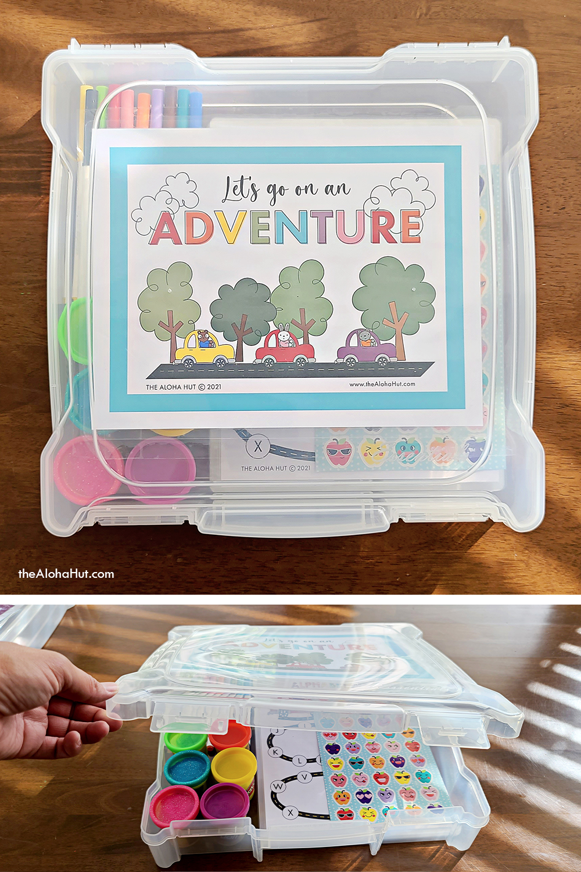 diy portable road trip kits