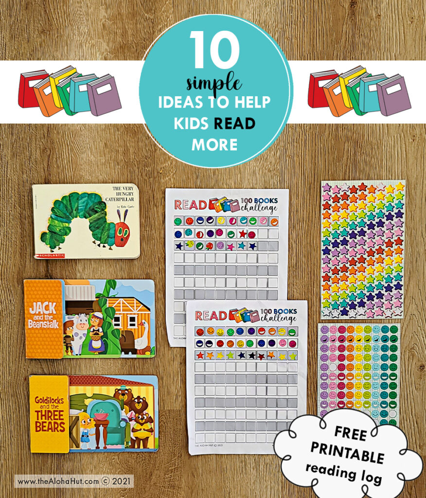 10 simple ideas to help kids read more