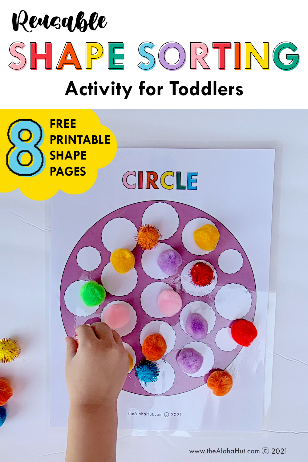 shape sorting activity for toddlers