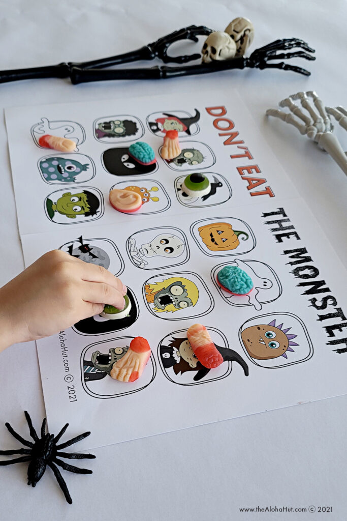 Don't Eat the Monster - Kids Halloween Party Game