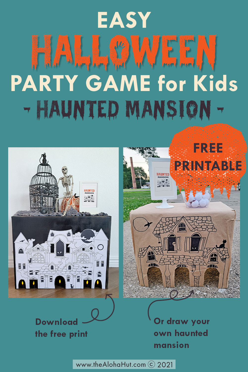 Halloween Party Game - Haunted Mansion